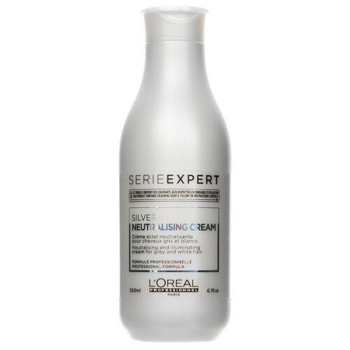 Купить L'Oreal Professionnel кондиционер-крем Expert Silver для осветленных и седых волос, 200 мл