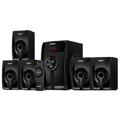Фото - Комплект акустики SVEN HT-202 черный комплект акустики sony ss cs8 2 1 145вт черный