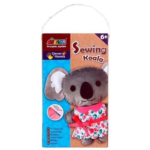 Купить AVENIR Набор Шьем Коалу (CH1376) серый/белый/розовый, Изготовление кукол и игрушек