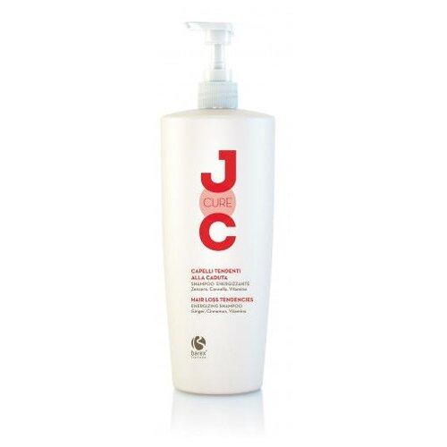 Barex шампунь JOC Cure Energizing против выпадения волос с имбирем, корицей и витаминами 1000 мл с дозатором каарал шампунь против выпадения