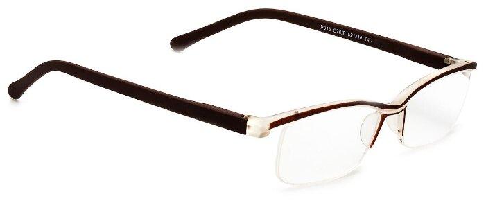 Очки корректирующие Lectio Risus P016 , + 3.50, цвет оправы: коричневый