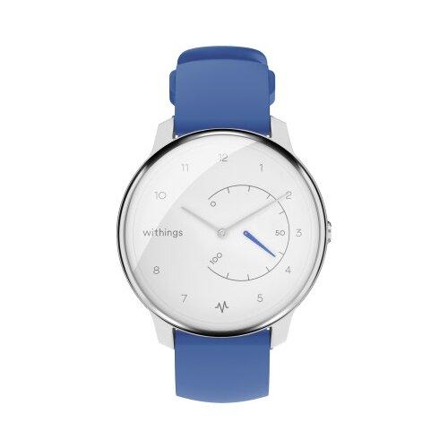 Умные часы Withings Move ECG, синий/белый