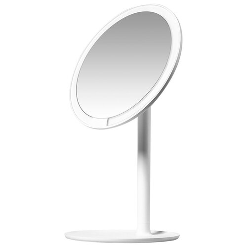 Фото - Зеркало косметическое настольное Xiaomi Amiro Lux High Color (AML004) с подсветкой белый зеркало косметическое настольное planta plm 1725 copper с подсветкой медный никель