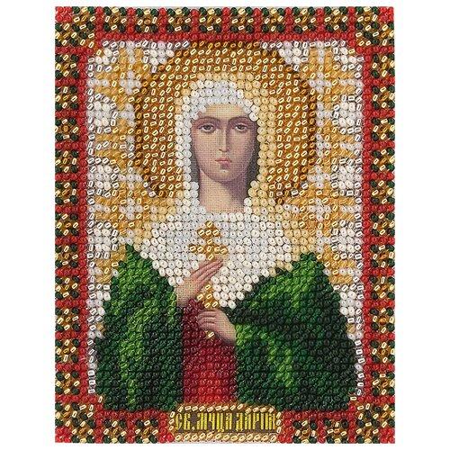 Купить PANNA набор для вышивания бисером Икона Святой мученицы Дарьи 8.5 х 10.5 см (CM-1217), Наборы для вышивания
