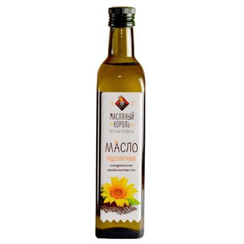 Масляный Король Масло подсолнечное сыродавленное 0.5 л