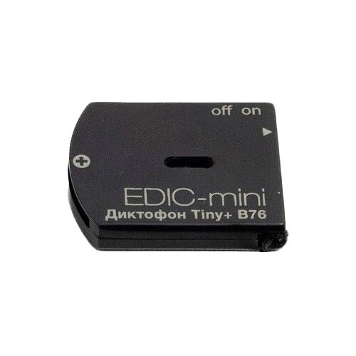 Диктофон Edic-mini Tiny + B76-150hq черный