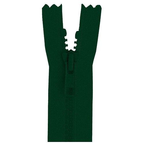 YKK Молния тракторная разъёмная 4335956/120, 120 см, темно-зеленый/темно-зеленый
