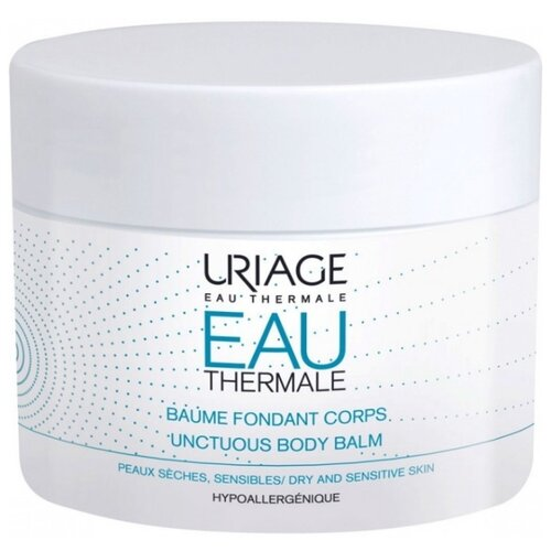 Бальзам для тела Uriage EAU Thermale укрепляющий питательный для тела, 200 мл урьяж мицеллярная вода очищающая для кожи склонной к покраснению 250 мл uriage гигиена uriage