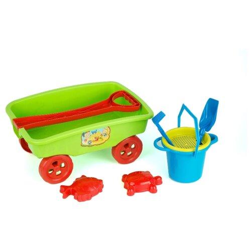 Купить Набор ZEBRATOYS 15-11178 зеленый/красный/синий/желтый, Наборы в песочницу