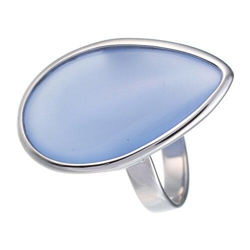 JV Кольцо с стеклом из серебра B3200-US-012-WG, размер 16.5