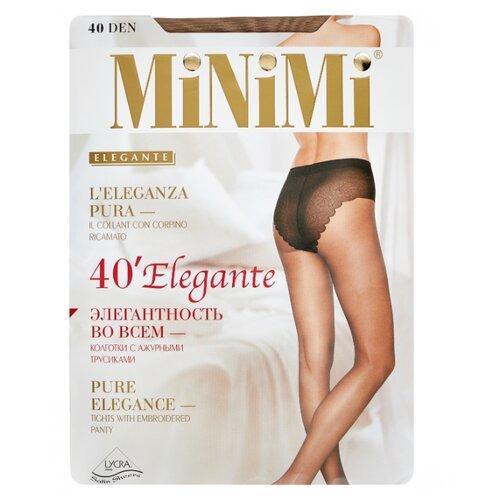 Колготки MiNiMi Elegante 40 den, размер 4-L, caramello (бежевый) колготки minimi elegante 40 den размер 4 l daino бежевый