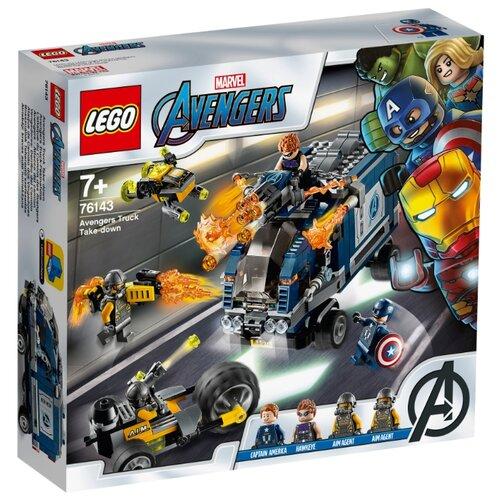 Конструктор LEGO Marvel Super Heroes 76143 Мстители: Нападение на грузовик lego нападение на планетуэндор разноцветный