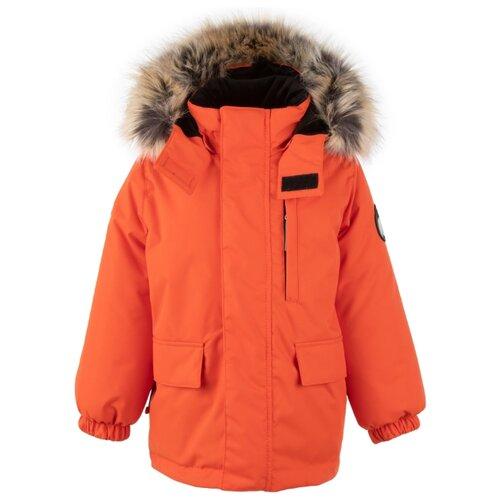 Купить Парка KERRY Snow K20441 размер 110, 455 оранжевый, Куртки и пуховики