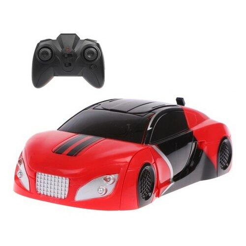 Купить Робот-трансформер Пламенный мотор 870436 красный/черный, Роботы и трансформеры