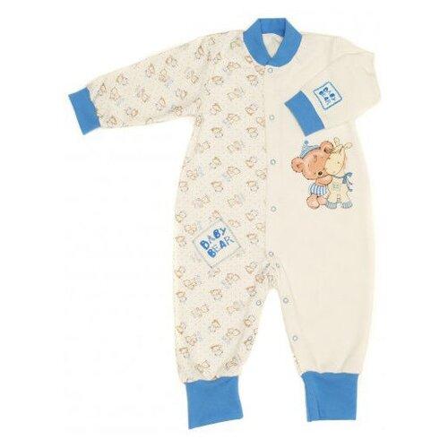 Комбинезон Babyglory размер 80, голубой джемпер для новорожденных babyglory superstar цвет синий ss001 09 размер 80
