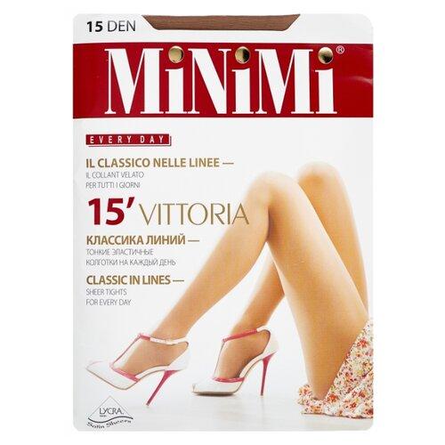 Колготки MiNiMi Vittoria 15 den, размер 3-M, daino (бежевый) колготки minimi vittoria 20 den размер 3 m daino бежевый