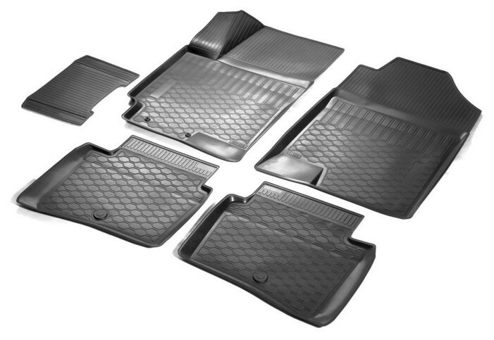 Коврик багажника Rival для Volkswagen Tiguan II (ровный пол) 2016-н.в., полиуретан. 15805005