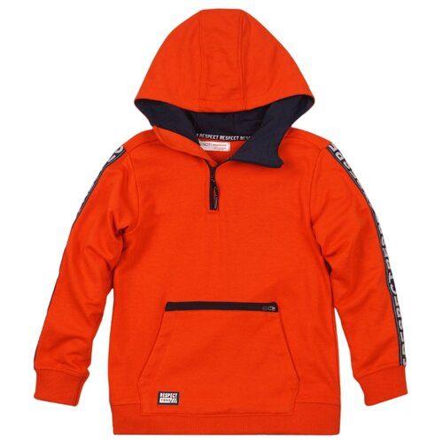 Худи Minoti размер 10-11 л, оранжевый худи superdry оранжевый 54 размер