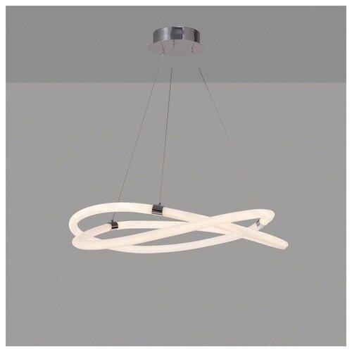 Фото - Люстра светодиодная Mantra Line 6607, 60 Вт, цвет арматуры: хром люстра mantra 0004045 198 вт