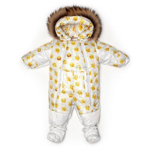Фото - Комбинезон-трансформер MaLeK BaBy 145шм/2 размер 74, Забавные звездочки+белый комбинезон malek baby malek baby