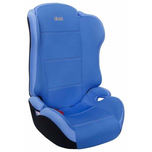 Автокресло группа 2/3 (15-36 кг) Zlatek Lincor, синий автокресло группа 1 2 3 9 36 кг little car ally с перфорацией черный