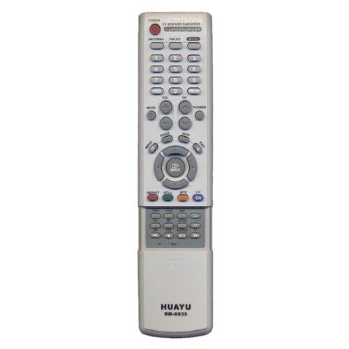 Фото - Пульт ДУ Huayu RM-D635 для телевизоров Samsung серый пульт ду huayu rm 836c для для телевизоров philips rc1205b 30063555 rc0770 rc19036002 rc19036001 rc19042001 серый