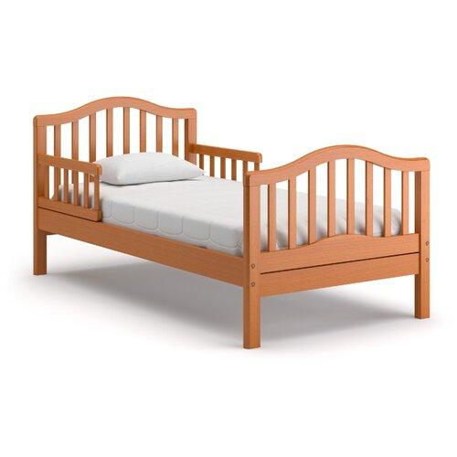 Кровать детская Nuovita Gaudio, размер (ДхШ): 167.5х87.5 см, спальное место (ДхШ): 160х80 см, каркас: массив дерева, цвет: ciliegio