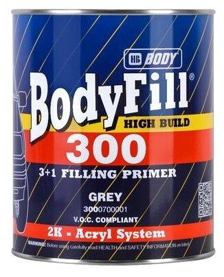 Грунт-наполнитель HB BODY 300 3+1, 2 шт.