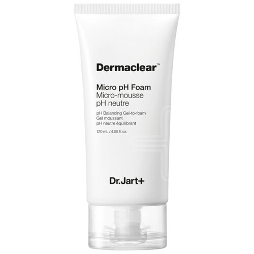 Dr.Jart+ гель-пенка глубокого очищения для умывания Dermaclear Micro pH Foam, 120 мл гель для ежедневного умывания cleanmat 225 мл premium home work