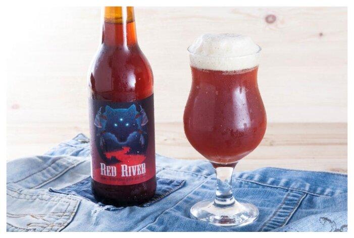 Пиво красное ВкусВилл Red River 0.5 л