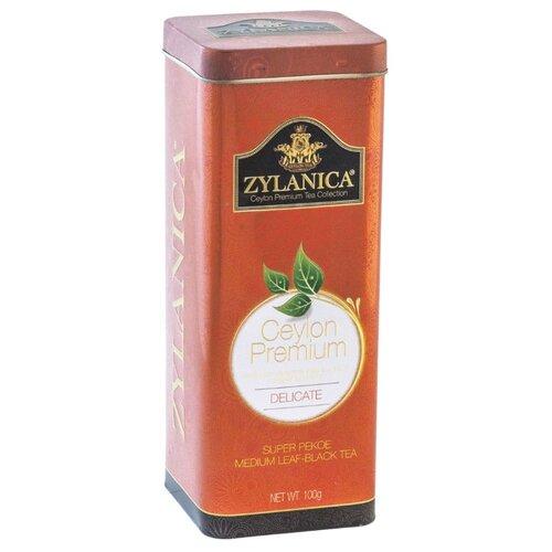 Чай черный Zylanica Ceylon premium Delicate подарочный набор , 100 г косметика для мамы weleda подарочный набор be delicate