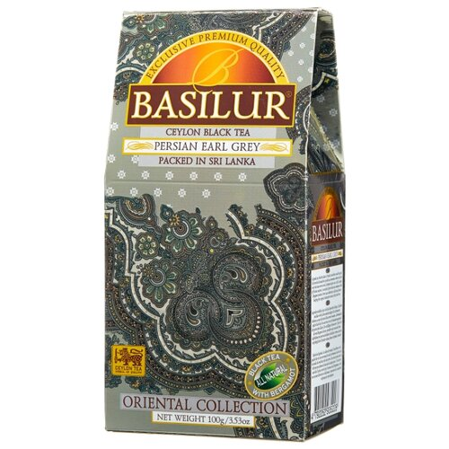 Чай черный Basilur Oriental collection Persian Earl grey, 100 г