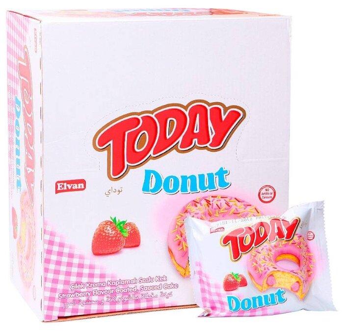 Elvan Пончик Today Donut клубника