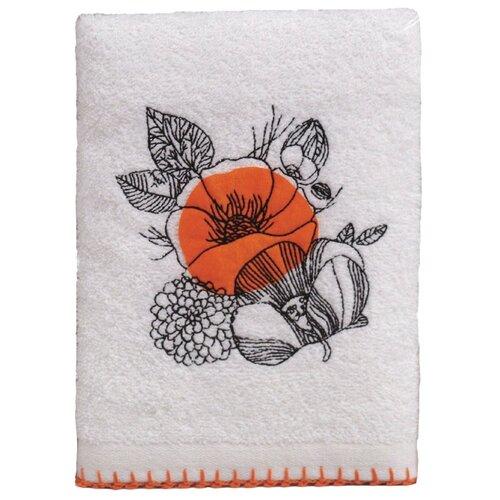 Аллегро полотенце Мальва для лица 50х70 см оранжевый