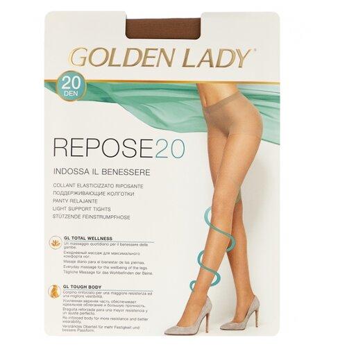 Колготки Golden Lady Repose 20 den, размер 4-L, daino (бежевый) колготки golden lady leda 20 den размер 4 l daino бежевый