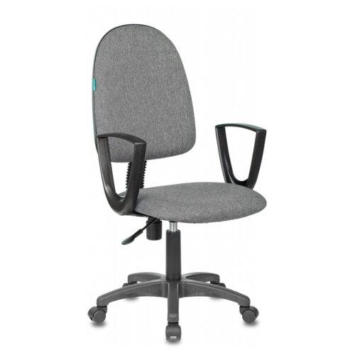 Компьютерное кресло Бюрократ CH-1300N офисное, обивка: текстиль, цвет: серый 3C1 офисное кресло бюрократ ch 1300n