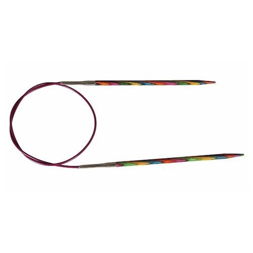 Купить Спицы Knit Pro Symfonie 21355, диаметр 5.5 мм, длина 100 см, розовый/желтый/голубой