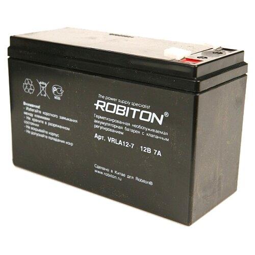 цена на Аккумуляторная батарея ROBITON VRLA 12-7 7 А·ч