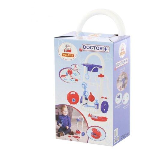Фото - Набор доктора Полесье Palau Toys Доктор №11 (69849) полесье набор игрушек для песочницы 468 цвет в ассортименте