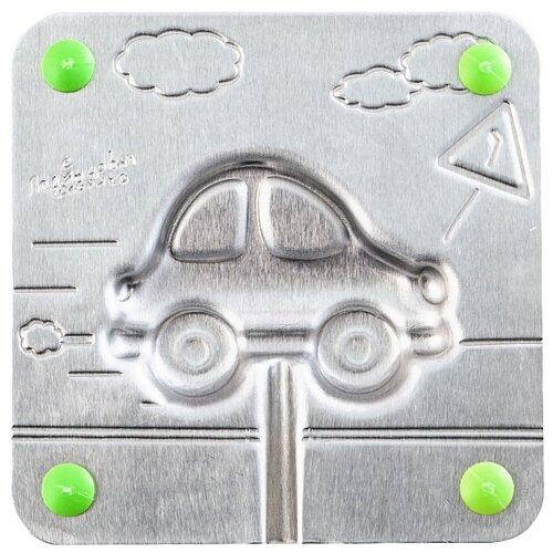 Форма для мармелада Леденцовая фабрика Машинка (0024) серебристый