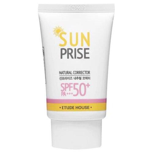 Купить Etude House крем Sun Prise Natural Corrector, SPF 50, 50 г, 1 шт
