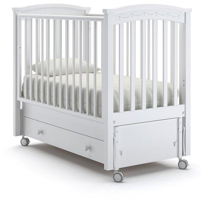 Кроватка Nuovita Perla Solo (маятник продольный)