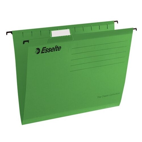 Купить Esselte Папка подвесная Classic А4, картон, 25 шт зелeный, Файлы и папки