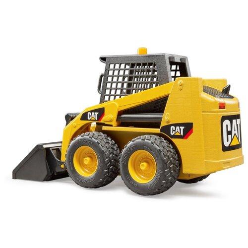 Купить Погрузчик Bruder мини Cat (02-481) 1:16 желтый/черный, Машинки и техника