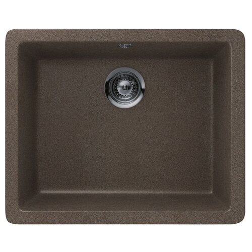 Фото - Врезная кухонная мойка 55 см Schock Soho N-100 бронза врезная кухонная мойка 45 см schock soho n 100s серебристый камень