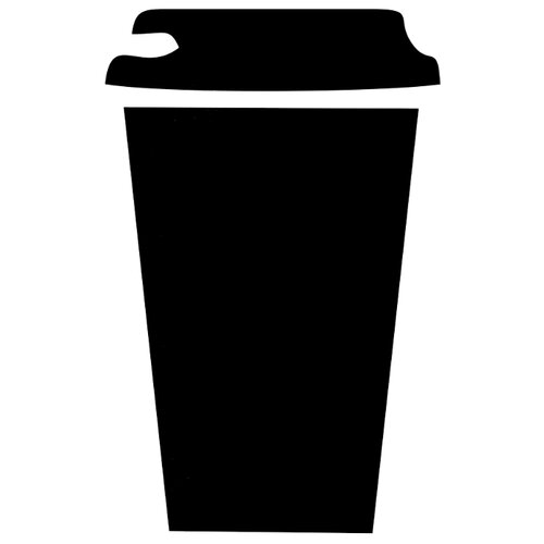 Наклейка Melcom Кофейный стаканчик, меловая наклейка melcom уютный чайник 04 меловая