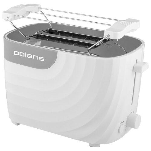 Тостер Polaris PET 0720, белый/серый