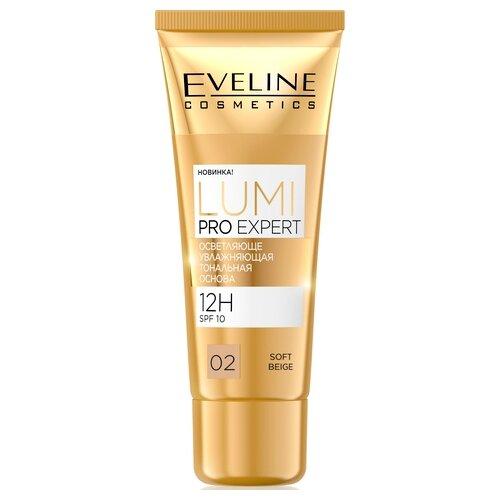Eveline Cosmetics Тональный крем Lumi Pro Expert, 30 мл, оттенок: 02 soft beige