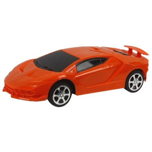 Купить Легковой автомобиль 1 TOY Спортавто (Т13817/T13818) 1:26 17 см оранжевый, Радиоуправляемые игрушки
