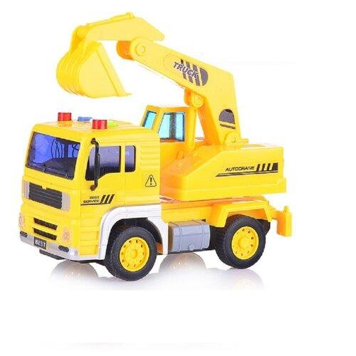 Купить Экскаватор ABtoys WY511C 1:20 желтый, Машинки и техника
